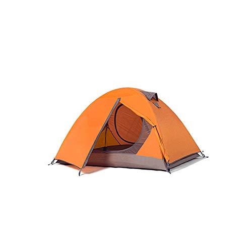 AOKUO Tienda de Camping Abierto rápido, Adecuado para Parejas, toldos a Prueba de Viento e Impermeables, Tienda Ligera, fácil de Instalar, Adecuado para Viajes de montaña y Camping al Aire Libre