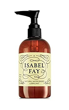 8 Oz NO Parabens NO Glycerin Natural Personal Lubricant for Sensitive Skin Isabel Fay - Water Based - Best Personal Lube for Women and Men  8 Fl OZ