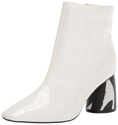 Betsey Johnson Women's REGIE Fashion Boot, White, 6