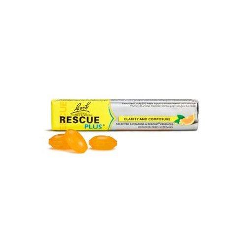 Rescue Remedy Plus 10 caramelos de Flores De Bach Originales