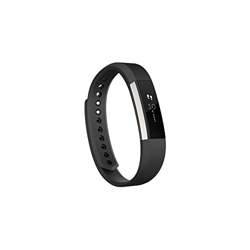 Fitbit Alta Fitness Tracker, Silver/Black, Large (US Version)