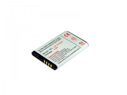 Original Handycop® Ersatzakku Lithium Ionen Akku für LG KU250 / GB102 / GB130 / KP100 / KP130 / KP170 / KP235 / KU380 / U250 - 700 mAh - kompatibel mit LGIP-411A