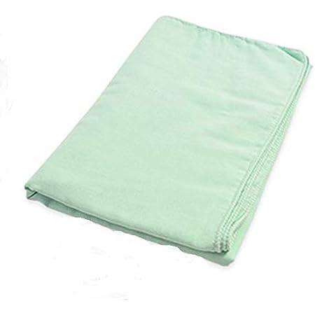 Fabric + ガーゼ湯上りバスタオル ミスト・グリーン 《日本製 両面ガーゼ 湯上りガーゼ》 【 メール便でお届けです。 】