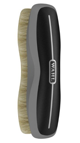 Wahl Professional Animal Equine Soft Body Horse Brush (#858704), Black