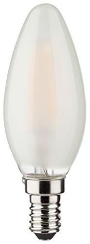 Müller Licht LED Kerzenform Filament 2.5 W (25W) E14 250lm 2700K matt ML400025