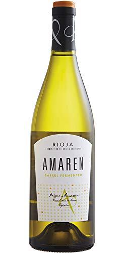 Vino Blanco Amaren Fermentado en Barrica Rioja Alavesa Caja 6 Unidades 75 CL
