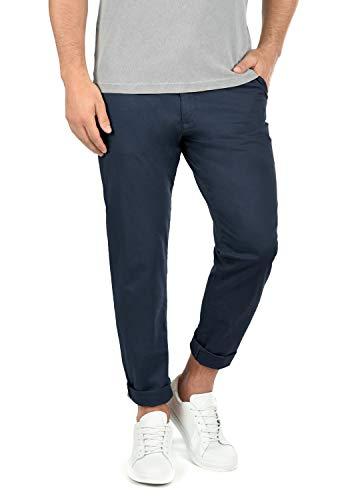 !Solid Machico Herren Chino Hose Stoffhose Stretch Regular Fit, Größe:W32/32, Farbe:Insignia Blue (1991)