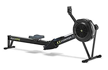 Concept2 Model D Indoor Rowing Machine with PM5 Performance Monitor Black