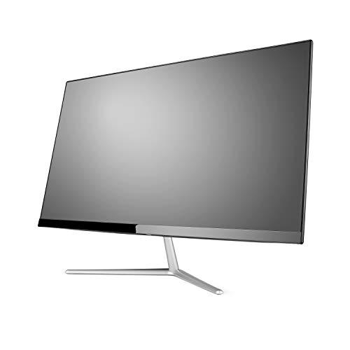 Lautloser All-in-One PC 60,5cm (23,8 Zoll) - CSL Unity F24B / Win10 Pro - Silent-PC mit Intel QuadCore CPU 4X 2300MHz, 64GB eMMC, 4GB RAM, AC WLAN, USB 3.1