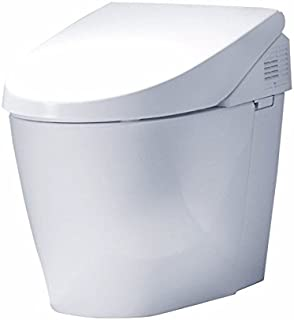 TOTO MS982CUMG#01 Neorest 550H One-Piece Elongated Toilet with 1.0 GPF & 0.8 GPF Dual Flush with CeFiONtect Ceramic Glaze, Cotton Finish