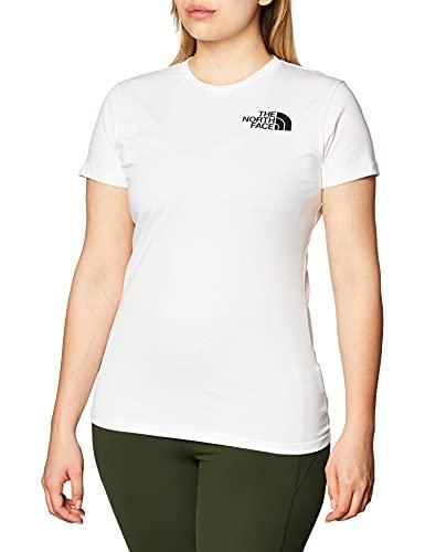 The North Face T-Shirt a Maniche Corte Donna Half Dome, White, M