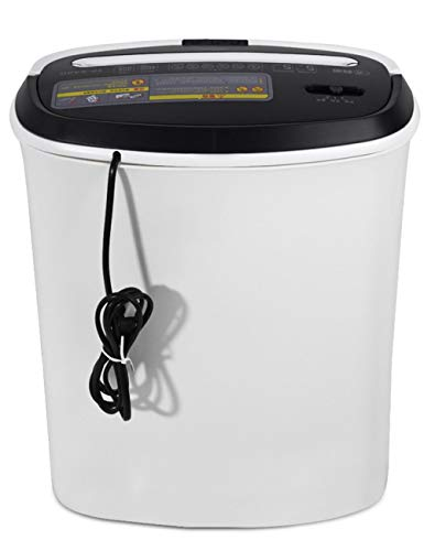 Cross Cut Shredders Home Use,Card Cutter,Electric Shredder Strip Cut Shredding Card Document Large 17 Litre Bin Machine Home Office 5-Minute Heavy Duty Continuous Run Time