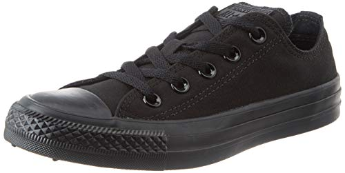 CONVERSE Chuck Taylor All Star Seasonal Ox, Unisex-Erwachsene Sneakers, Schwarz (Black), 45 EU (11 Erwachsene UK)