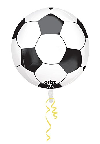 Amscan 3068501 15 x 16 inch voetbal Orbz folie ballonnen