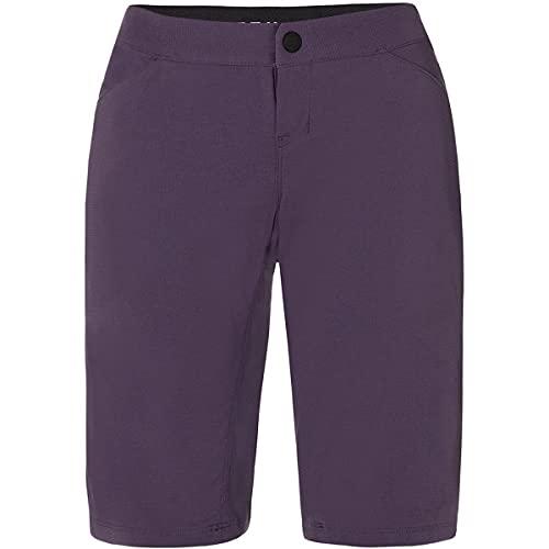 Fox Womens Ranger - Pantalón corto para mujer, color morado oscuro