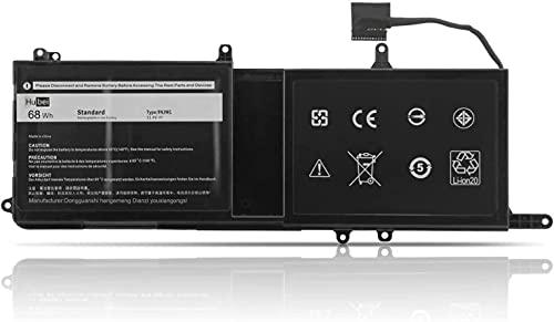 9NJM1 0546FF 0HF250 44T2R HF250 MG2YH 0MG2YH 546FF Laptop Battery Replacement for Dell Alienware 15 R3 R4 17 R4 R5 Series (15.2V 68Wh)