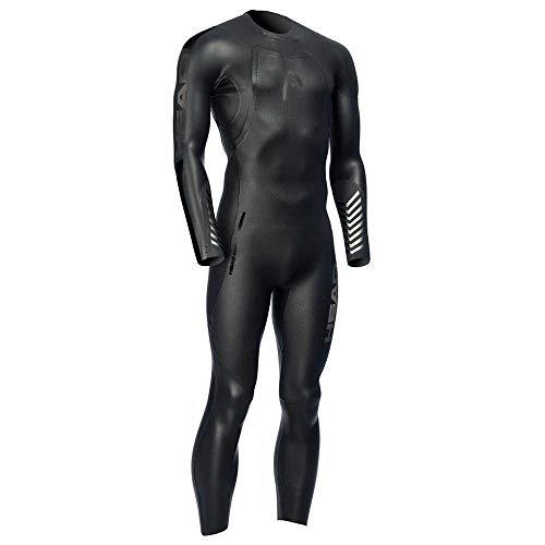 Head Marlin Man Tri Wetsuit 531 5 Neoprene Suit Men Black Silver S