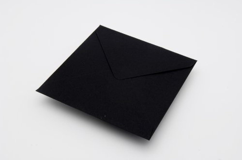 500 schwarz Briefumschläge, gummiert, Motiv Briefumschlag, 100° 100° 100° g m ², 130 x 130 mm B00K09W3QU | Ideales Geschenk für alle Gelegenheiten  818a28