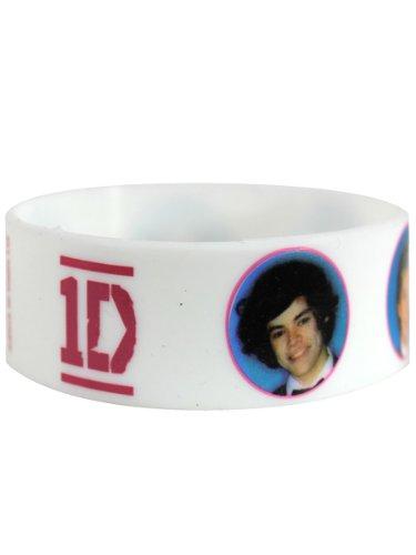Bracelet en silicone One Direction : Band Photos Sous Licence Officielle