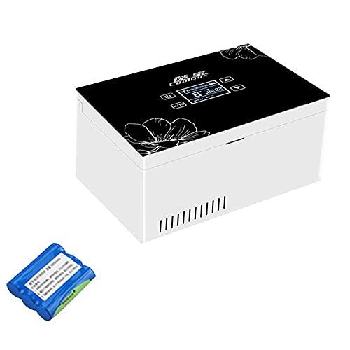 Insulin Kühler A Tragbare Insulin Kühlbox für Medikamente Mini Intelligente Elektrische Kühlschrank Kühltasche USB-Aufladung für Reise Haushalt Insulin Reefer
