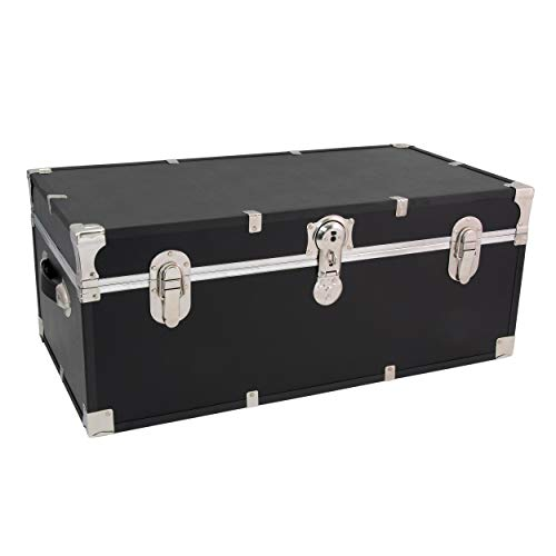 Seward Trunk Essential Storage Trunk, Black
