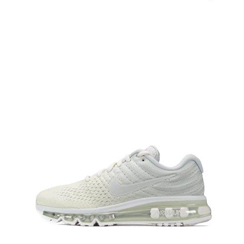 NIKE Womens Air Max 2017 Running Trainers 849560 Sneakers Shoes (UK 4 US 6.5 EU 37.5, Phantom Off White 005)