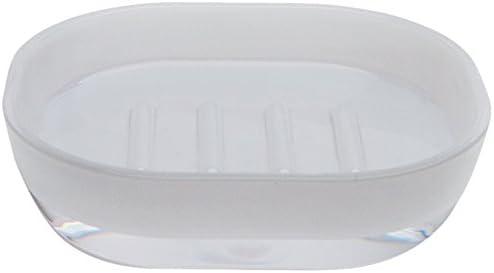 Excelsa Linea Bagno Popular Soap Dish 15.7 cm 11 White 4 x Fixed price for sale
