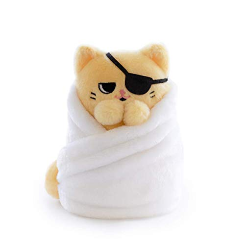 Hashtag Collectibles Purritos 7 Inch Cat In Blanket Plush Series 2 Tamago