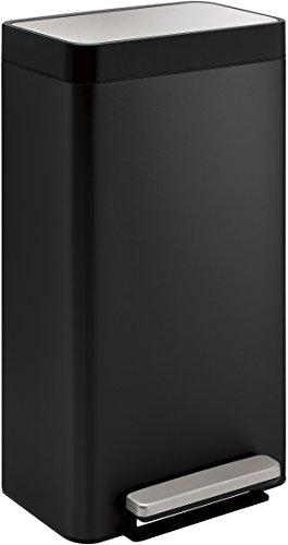8-Gallon Loft Step Trash Can, Black Stainless - Kohler K-20941-BST