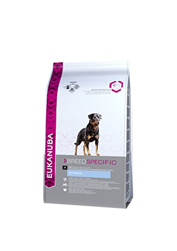 Eukanuba Breeds Specific Croquettes pour Chien Adulte Rottweiler 2,5 kg