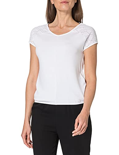 Street One Ramona Camiseta, Blanco, 42 para Mujer