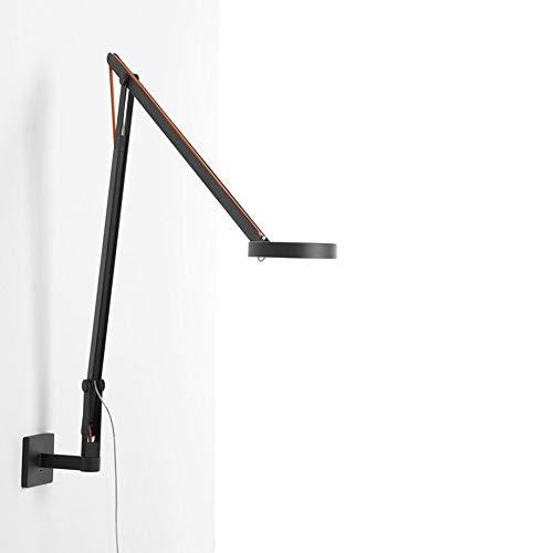 Rotaliana 1SRW1 002 62 EL0 String - Lámpara LED de pared con regulador de intensidad, color negro