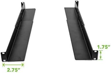 NavePoint Full Depth Rack Mount Shelf Rail for Dell IBM HP Compaq