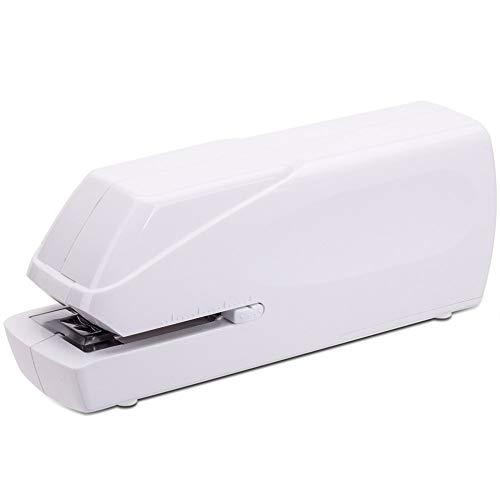 Grapadora eléctrica, modo de fuente de alimentación dual, profundidad de papel ajustable,...