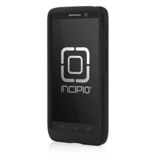 Incipio Dualpro Hard Shell Phone Case Cover - Droid MINI - Black/Gray - Retail Packaging