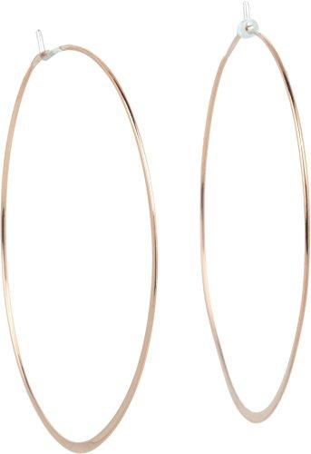 Michael Kors Womens Heritage Whisper Hoop Earrings