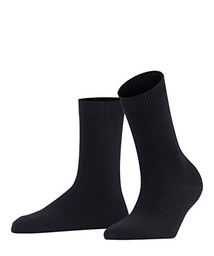 FALKE Damen Socken Cosy Wool X-Mas, Merinowolle/Kaschmirmischung, 1 Paar, Schwarz (Black 3009), Größe: 39-42