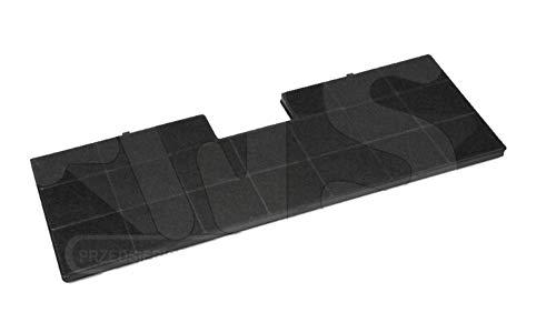 Filtre à charbon FW-6 / FWK-485 pour le capot Amica OTC6413l (485x170x10) - Accessoires capot - Pièces pour hottes