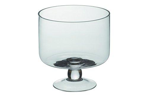 Bol para trifle muy profundo con lateral recto que permite la cobertura uniforme de cada capa del trifle Copa de profundidad fantástica Diseñado por Artland Fabricado a mano mediante la técnica de vidrio soplado En caja para regalo
