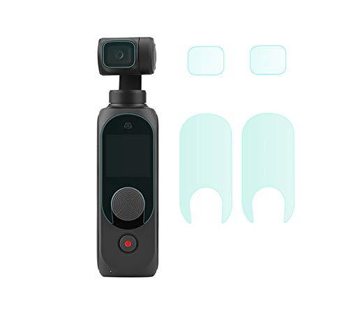 SHEAWA FIMI PLAM2用 フィルム 2セット入 強化ガラス保護フィルム レンズ・画面保護 9H 極薄 高透過率 指紋防止 アクセサリー