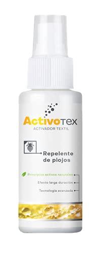 Repelente de piojos y parásitos natural de larga duración para ropa y tejidos. Prevención antipiojos y antiparásitos con microcapsulas de árbol del té (80 ml)