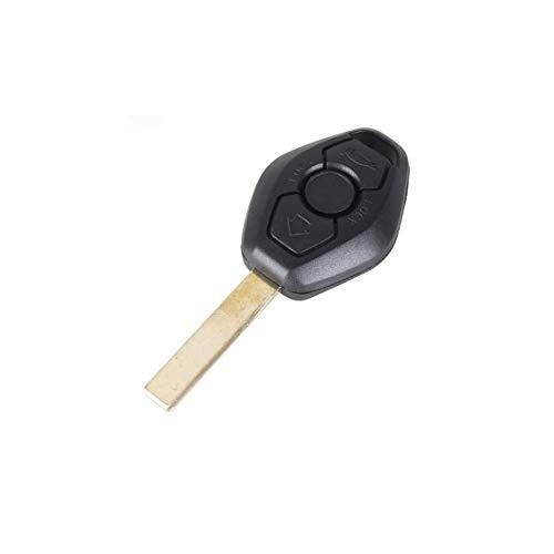 Guscio Portachiavi Accessori Ricambi Cover Copri Chiave Telecomando Auto 3 Tasti Compatibile Con BMW Serie - 3-5 - 7 - X3 - X5 - Z4 - M3.