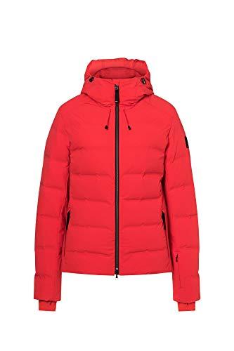 Bogner Fire + Ice Ladies Gianna-D Rot, Damen Daunen Freizeitjacke, Größe 36 - Farbe Lava Red