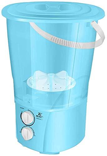 Kylin-k Mini lavado Calcetines Máquina Artefacto separada de la ropa interior del cubo principal de la máquina de Split portátiles ropa de bebé Dedicado lessthan2KG deshidratación Velocidad: 740, Rosa