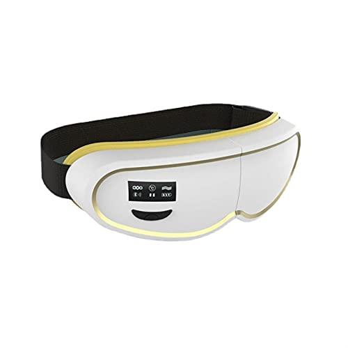 WGHH Massager de Ojos con presión inalámbrica de presión de Aire Caliente, masajeador de shiatsu eléctrico para Ojos Secos, cepa de Ojos, Alivio de la Fatiga Ocular y Mejor sueño