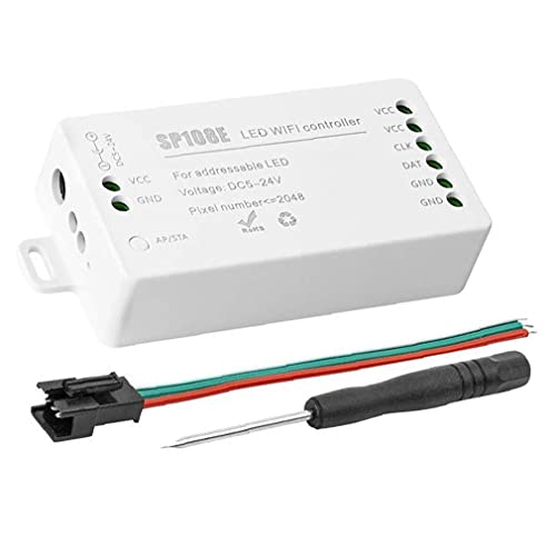 Governor LED WiFi Controller WS2811 WS2812B LED Strip Light Module Universal App Wireless Control SP108E 2048 Pixels