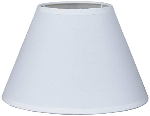 Better & Best 20 lampenkap van katoen, rond, glad, 20 cm, kleur