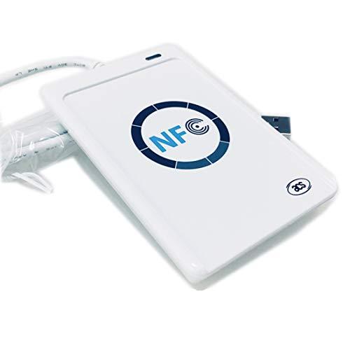 HLONGG ACR122U NFC RFID Lector/Grabador Inteligentes Sin Contactos SDK, Tarjeta IC 5Xmifare,L