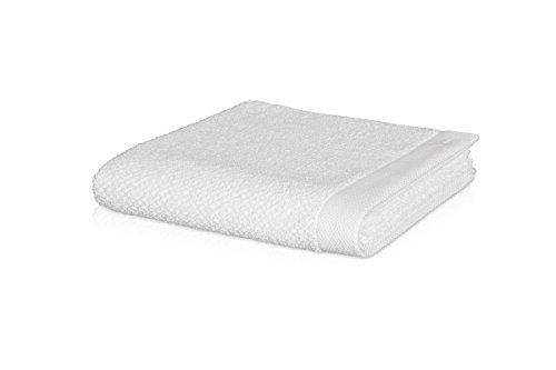 möve New Essential Handtuch 50 x 100 cm aus 100% Baumwolle, snow