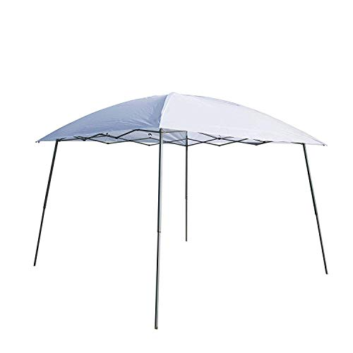 Goodgojo 10'x 10' EZ Pop-up Canopy Tent Instant Gazebo Outdoor Tent with Carry Bag for Party Wedding Camping (10'x 10', White)